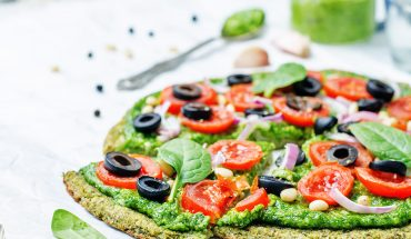 vegane Pizza ohne Käse
