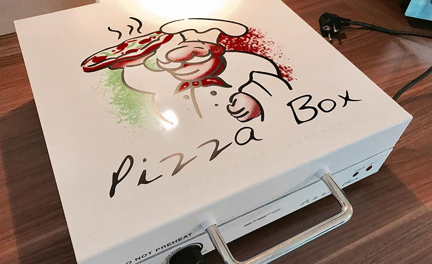 Emerio PB-115331 Pizza-Box Weiß