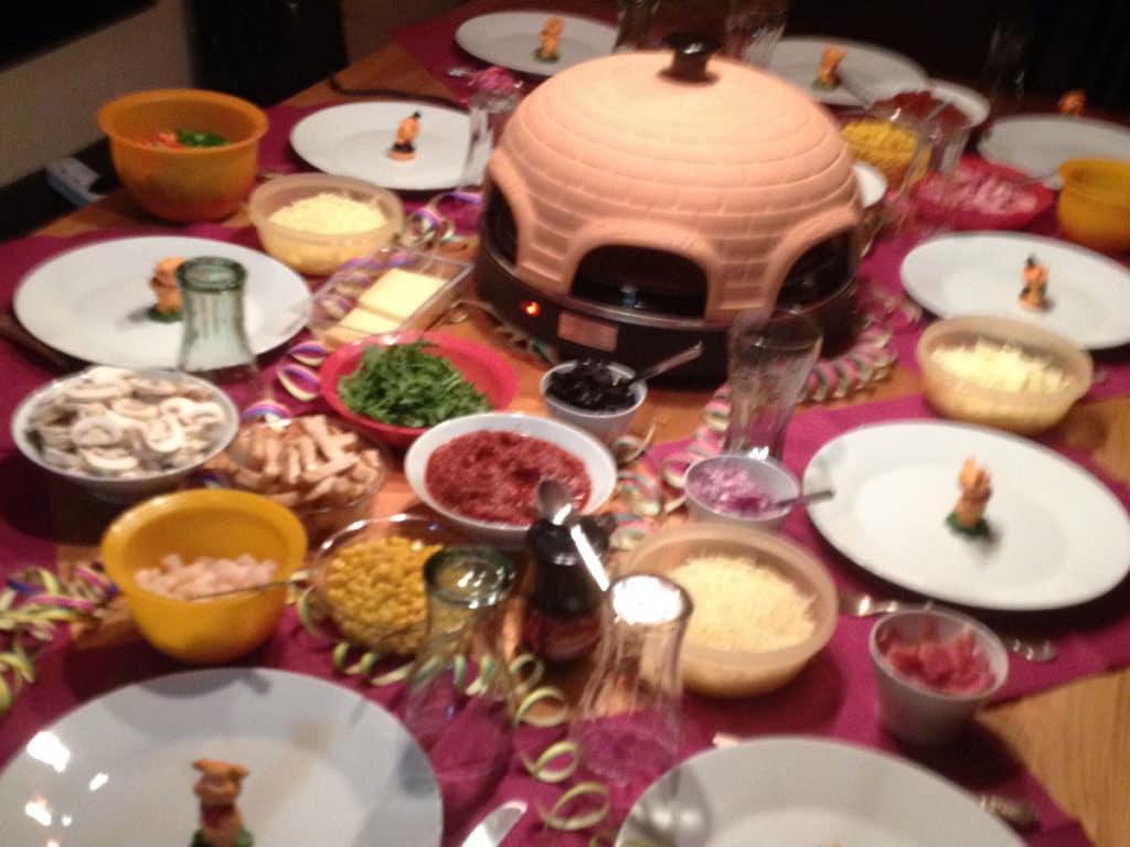 Emerio Pizzarette im Test mit Gästen
